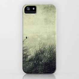 Talk to me ~ Birds silhouettes iPhone Case