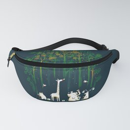 Re-paint the Forest Fanny Pack