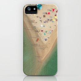 Aerial Koh Phangan Beach Thailnad iPhone Case