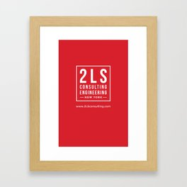 2LS Consulting Engineering Framed Art Print