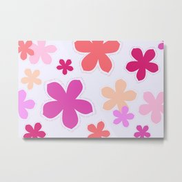 Anohana Flowers Metal Print