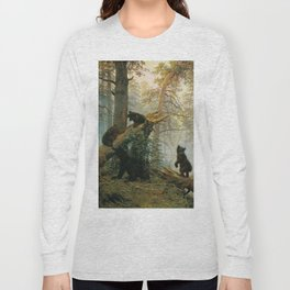 Morning in a Pine Forest by Shishkin and Savitsky (1889) Long Sleeve T-shirt