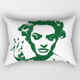 Smoke: Candice Swanepoel Rectangular Pillow