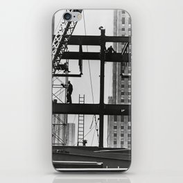 Steel workers New York City iPhone Skin