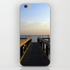 sittin' on the dock iPhone & iPod Skin