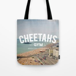 Cheetahs Gym Brighton Tote Bag