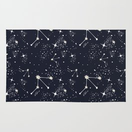 Zodiac Constellations - Libra Rug