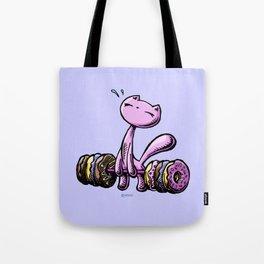Skribbles: Weakness for doughnuts (pink) Tote Bag