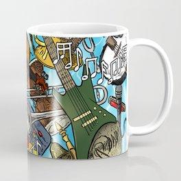 Swimming On Music Coffee Mug