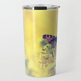 Sunshine and Butterflies Travel Mug