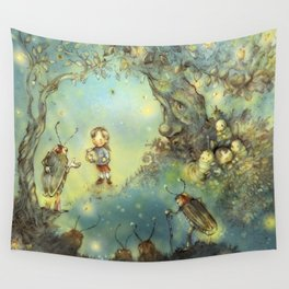 Firefly Forest Wall Tapestry