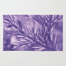 Ultra Violet Spruce Tree Pattern| Trendy color of year 2018 Rug