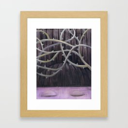 Sleeping Beauty with Thorns Framed Art Print