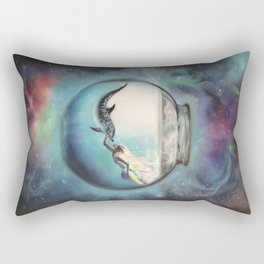 Two Lost Souls Rectangular Pillow