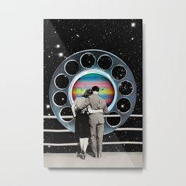 Center Gravity Metal Print