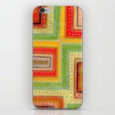 Autumnal tangle tracks iPhone & iPod Skin