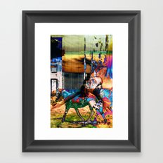 Floating Free Framed Art Print