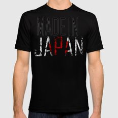 Made In Japan Black MEDIUM Mens Fitted Tee