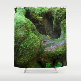 Redwood Moss Shower Curtain