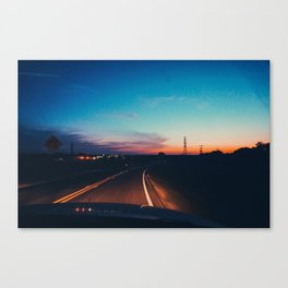 Waco Road Canvas Print