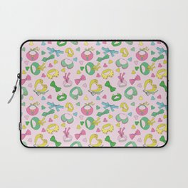 We love collars and bow ties Laptop Sleeve