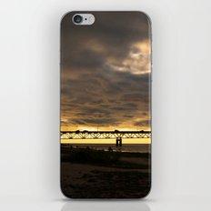 Waiting on the Sun to set iPhone & iPod Skin