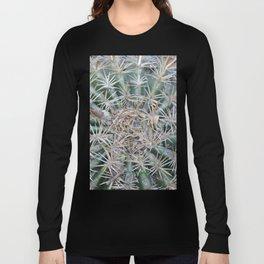 TEXTURES -- Coast Barrel Cactus Long Sleeve T-shirt