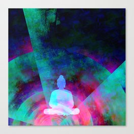 Meditation Time Canvas Print