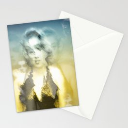 Marylin and her reflects Stationery Cards