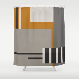 Plugged Into Life Shower Curtain