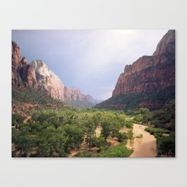 Escape To Zion Canvas Print