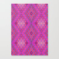 kilim Canvas Prints featuring Kilim 4 by EllaJo Design