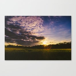 Underneath the Oklahoma Sky Canvas Print
