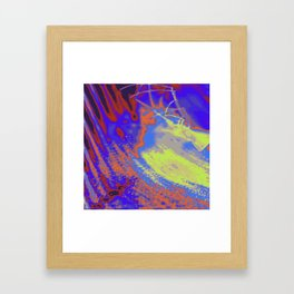 Psychedelica Chroma XXI Framed Art Print