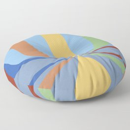 The Rainbow Room Floor Pillow