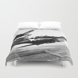 Vintage fighters Duvet Cover