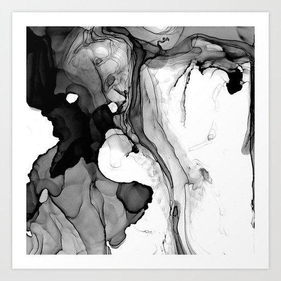 Soft Black Marble by lumenbigott