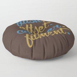 flush offset camber fitment v7 HQvector Floor Pillow
