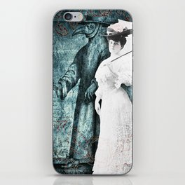 Walking With The Doctor iPhone Skin