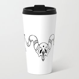Boho Geometric & Skull Travel Mug