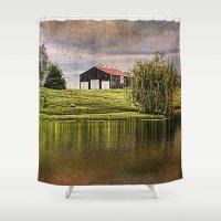 kentucky Shower Curtains featuring Kentucky CountrySide by ThePhotoGuyDarren