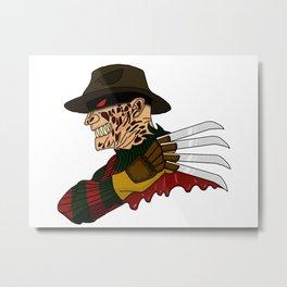Freddy Lives Metal Print
