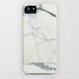 Carrara Marble iPhone Case