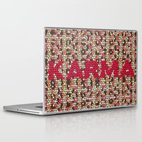 karma Laptop & iPad Skins featuring kARMA by thecatalyst