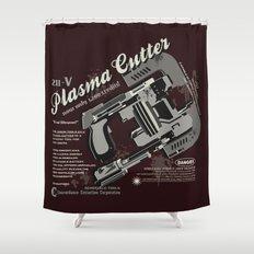 Dead Space - Plasma Cutter Shower Curtain