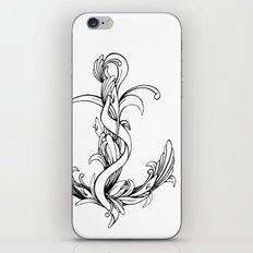 Anchor (outline) iPhone & iPod Skin