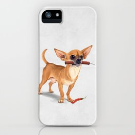 Spicy (Wordless) iPhone Case