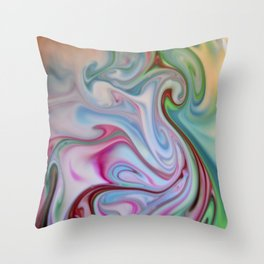 Wonderful World of Food Color 2 Throw Pillow