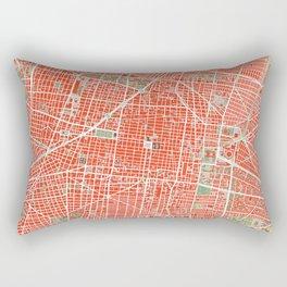 Mexico city map classic Rectangular Pillow