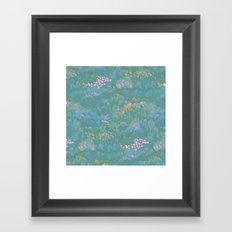 Blue Life in Death Valley Framed Art Print